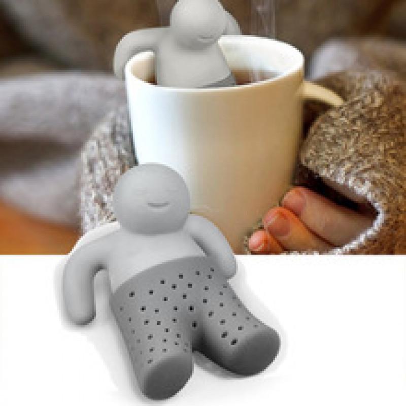 Silikon Çay Süzgəci