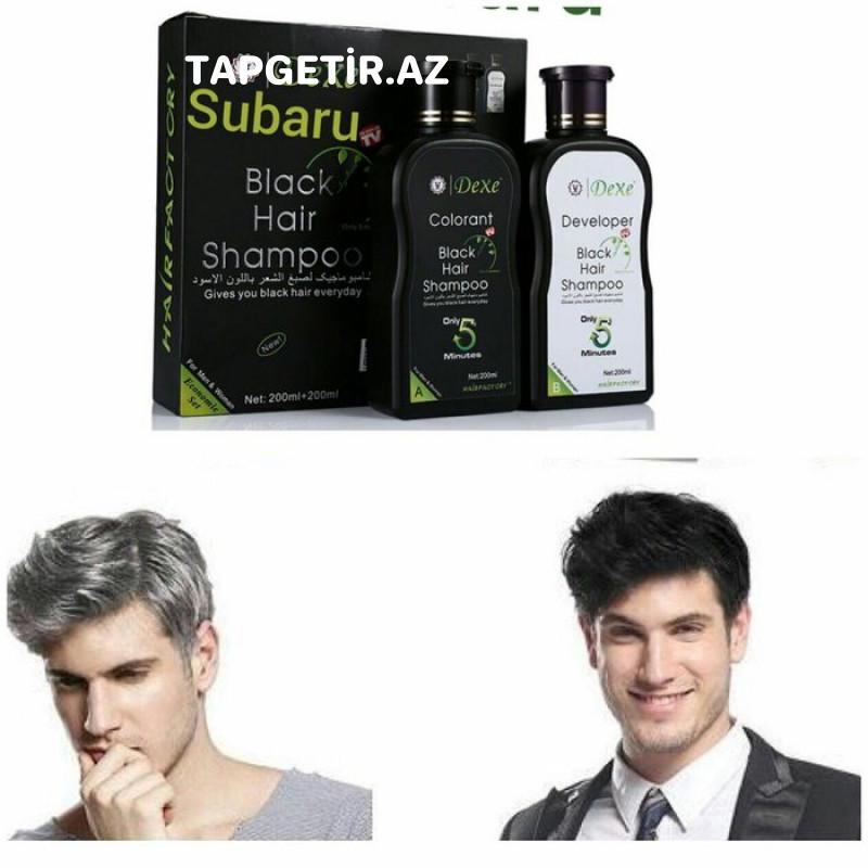 Dexe Saç Qaraldan Şampun